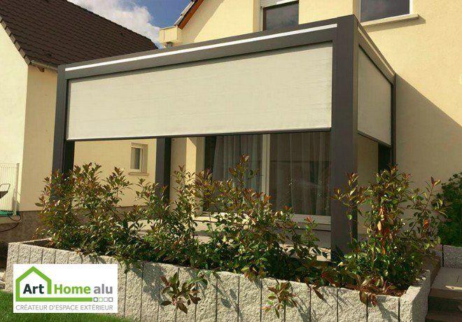 pergola bioclimatique fabriquée par Art Home Alu, en Alsace